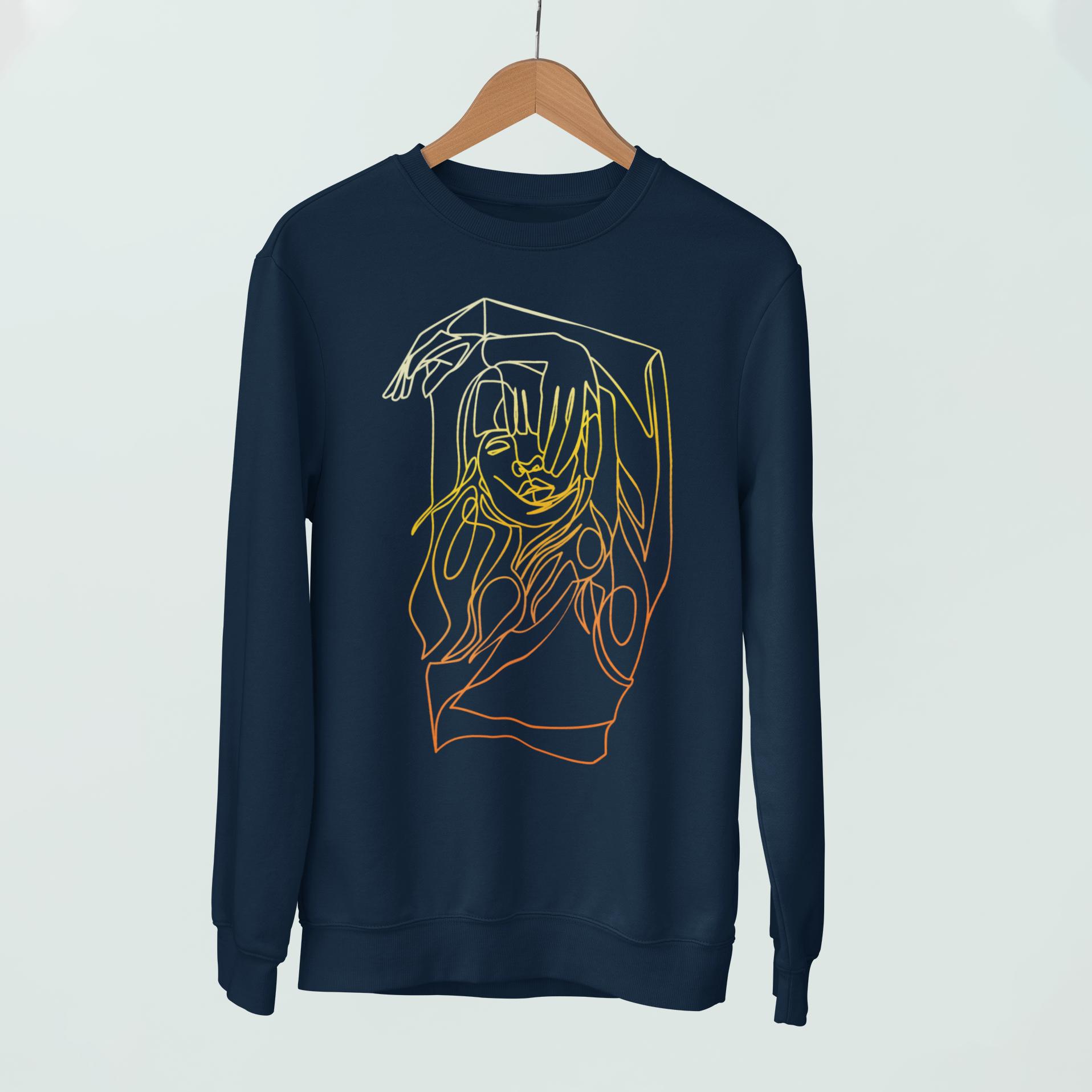 Men's Independent Navyliner Sweatshirt – l / navy