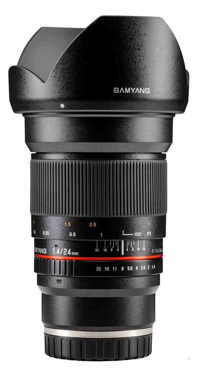 Samyang 24mm F1 4 Ed As If Umc With Sony E Mount Photo Lens Powerade Bottle Drink Bottles