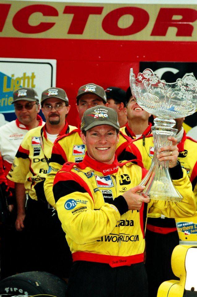 June 11, 2000: Scott Sharp, driver of the #8 Delphi Automotive
