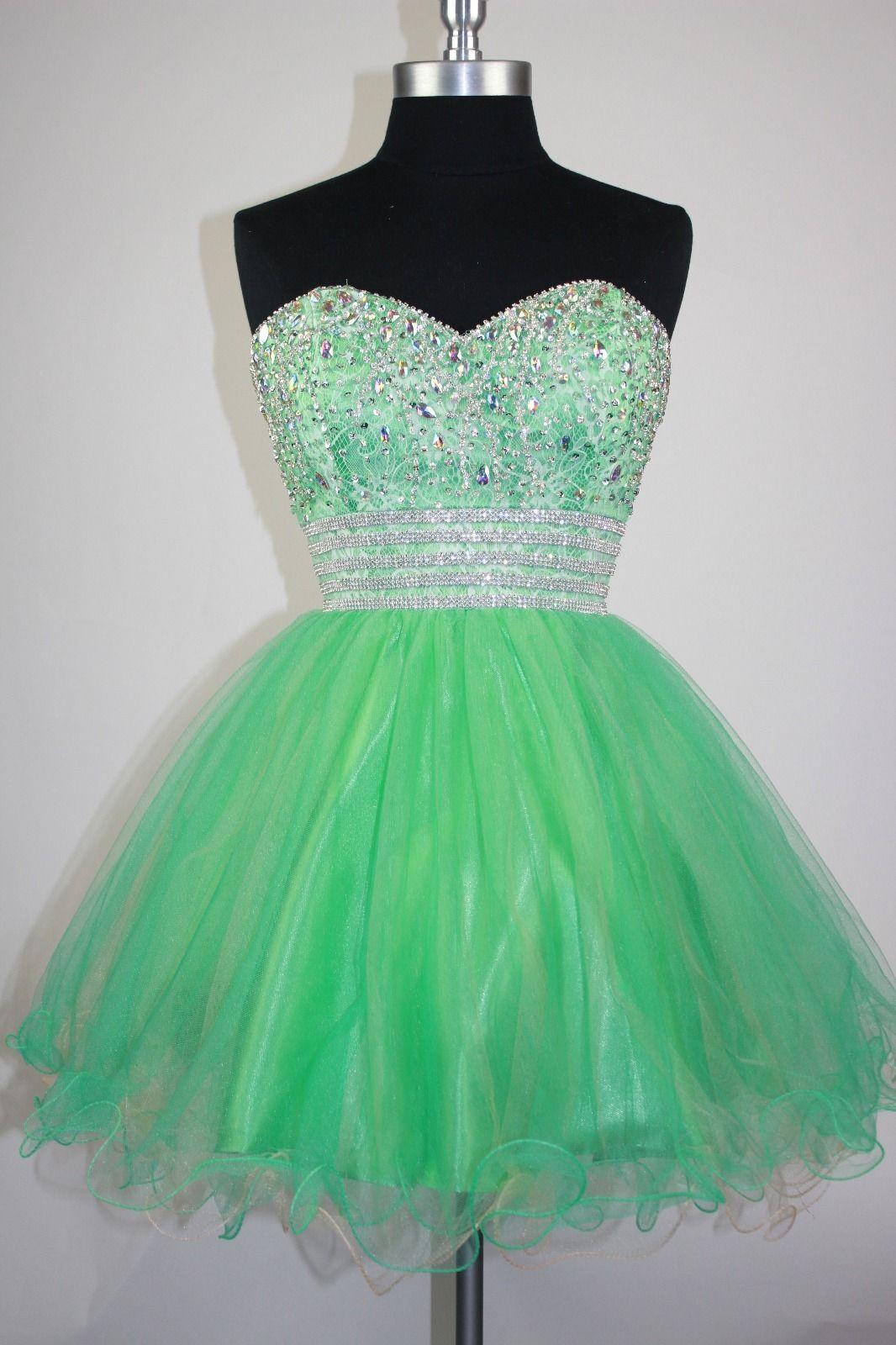 Green prom dresscharming prom dressestulle prom gownelegant prom
