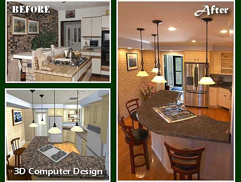 Before And After Remodels Home Addition Before And After Photos Beautiful Houses Interior Kitchen Remodel Design Home