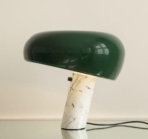 Castiglioni snoopy lamp