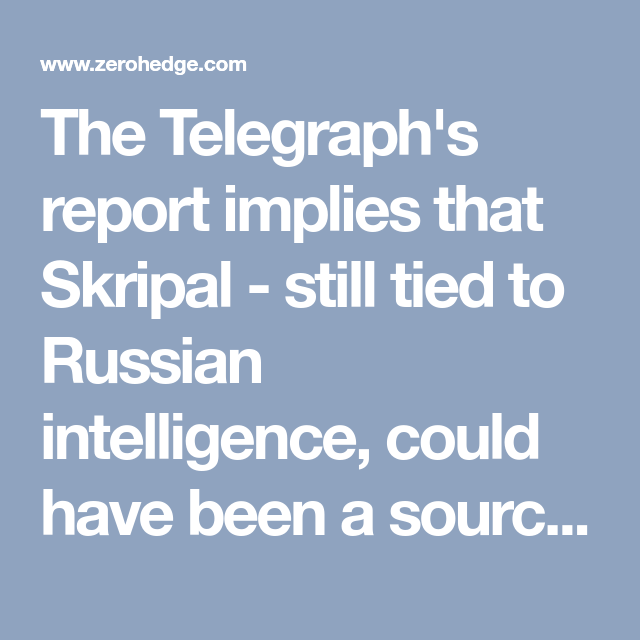 Image result for skripal and steele dossier