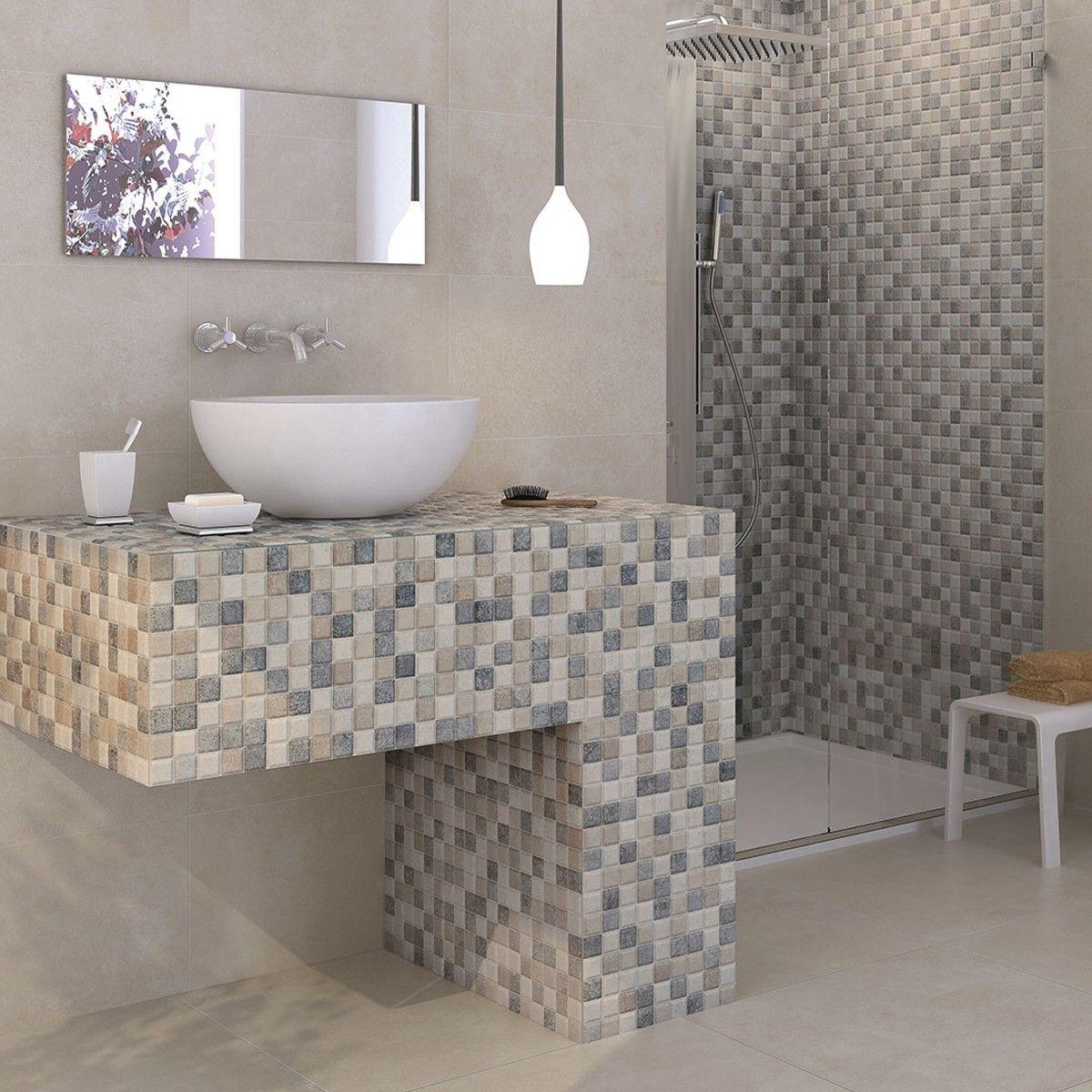 55x33.3 Atrium Kiel RLV Mosaic - Crown Tiles | Bathroom Tiles ...