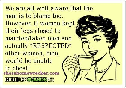 If he's in a relationship? Walk away! | Homewhrecker Lolz