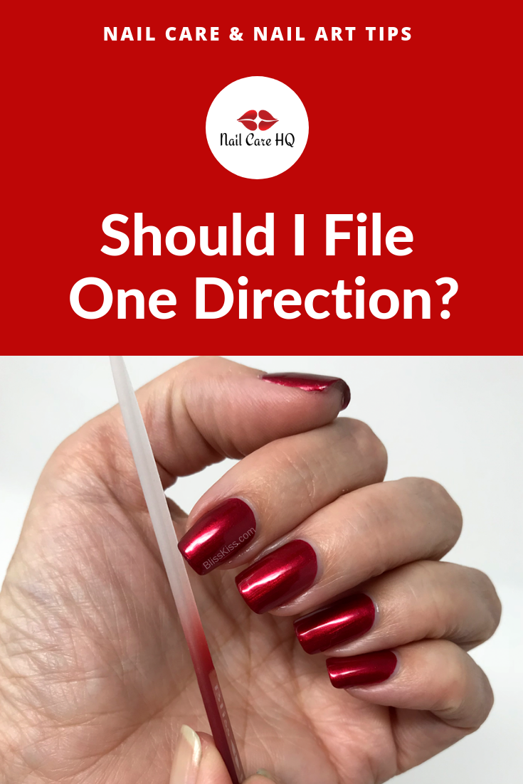 2019 year style- Care nail tips for peeling, fragile nails