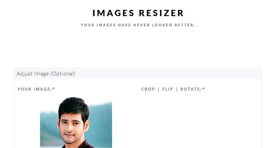 It Is Simple Web Application To Resize Your Photos Pictures Without Loosing The Quality And Resolutions It Can Pictures Online Online Service Web Application
