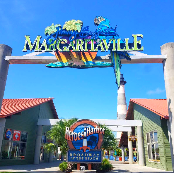 Margaritaville Broadway At The Beach Myrtle South Carolina Restaurant Dining Photo Via Instagram By Nicolemay34