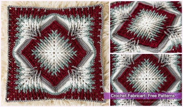 Crochet Elements Cal Blanket Free Pattern #crochetelements