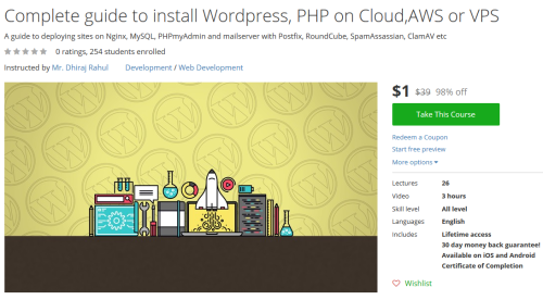 Complete guide to install Wordpress PHP on CloudAWS or VPS