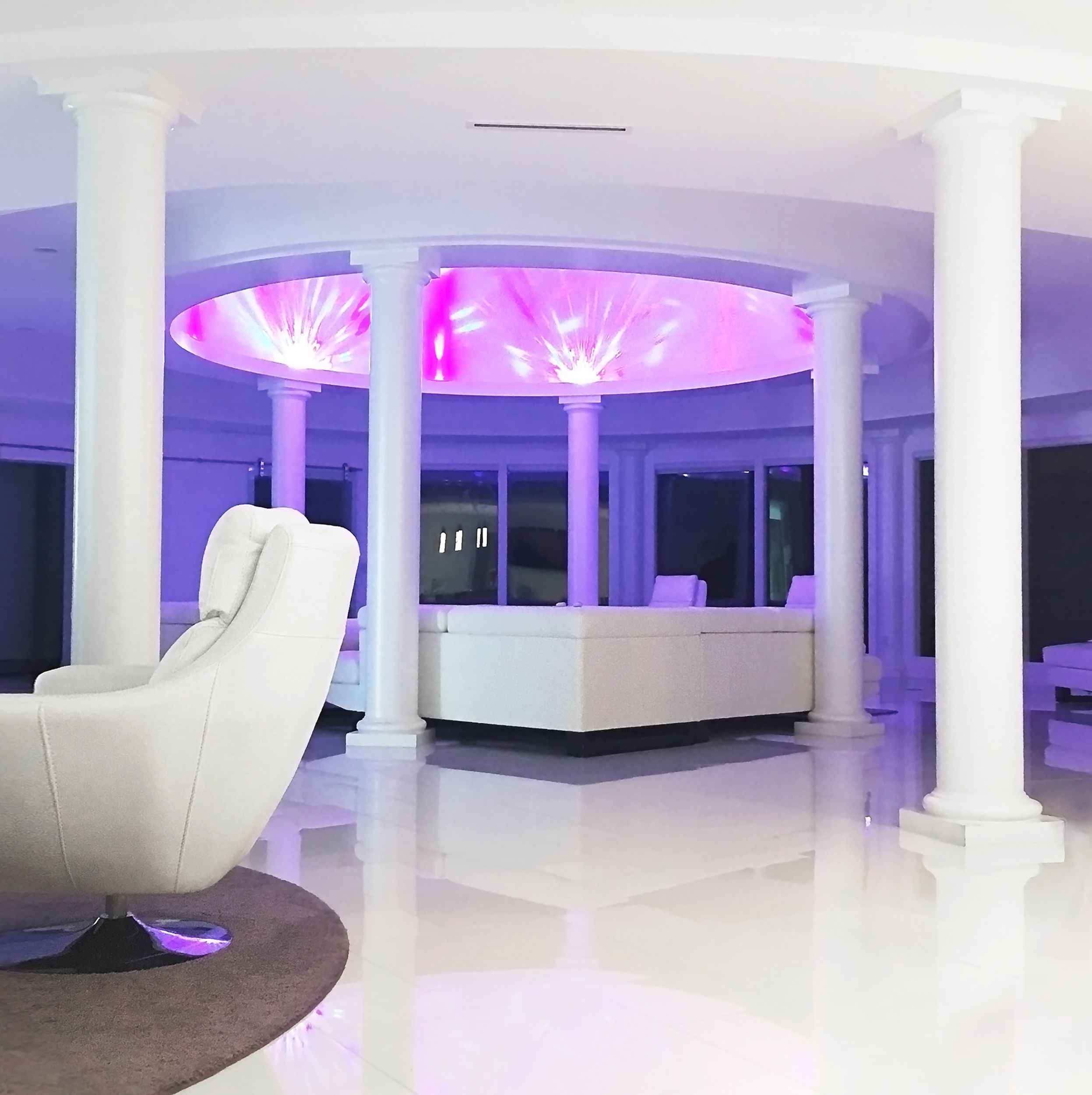 Living Room Columns endura-stone columns for living room | stone columns, columns and