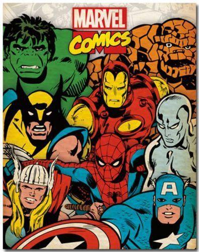 Resultado de imagem para marvel vintage corner art - Marvel retro wallpaper ...