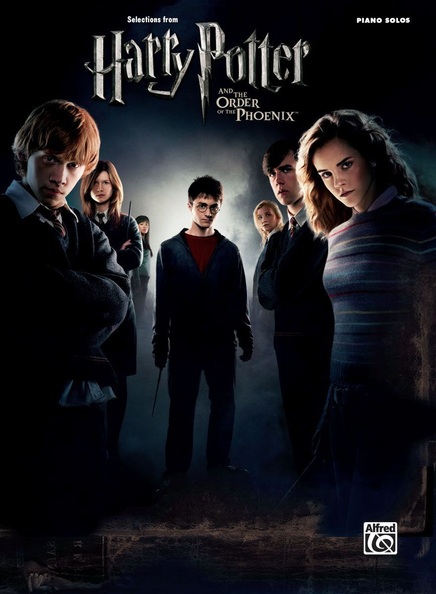 Harry Potter And The Order Of The Phoenix Songbook Arranged For Piano Solo Harry Potter Rowling Harry Potter Harry