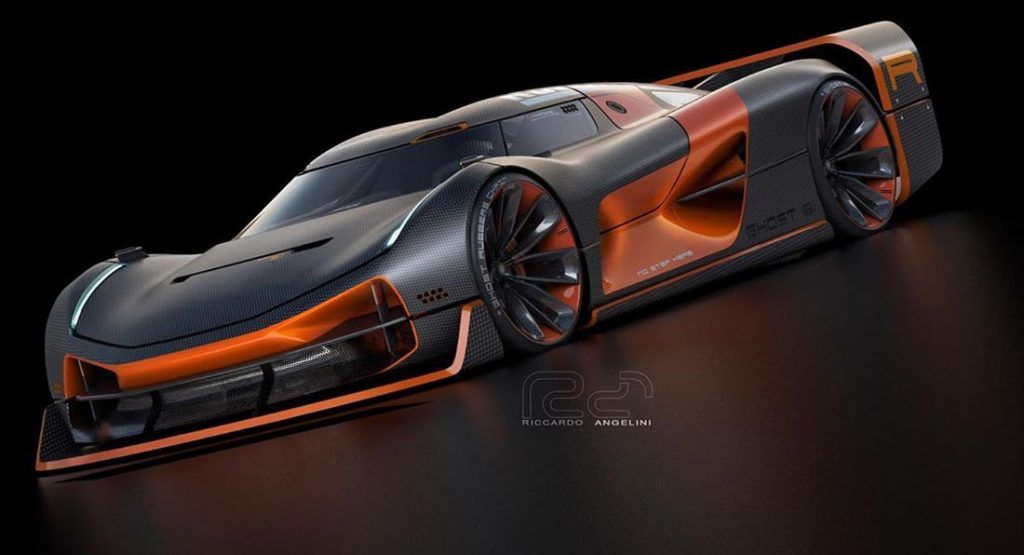 This Wild Koenigsegg Ghost Hypercar Concept Was Penned By Indias TATA Motors Lead Designer