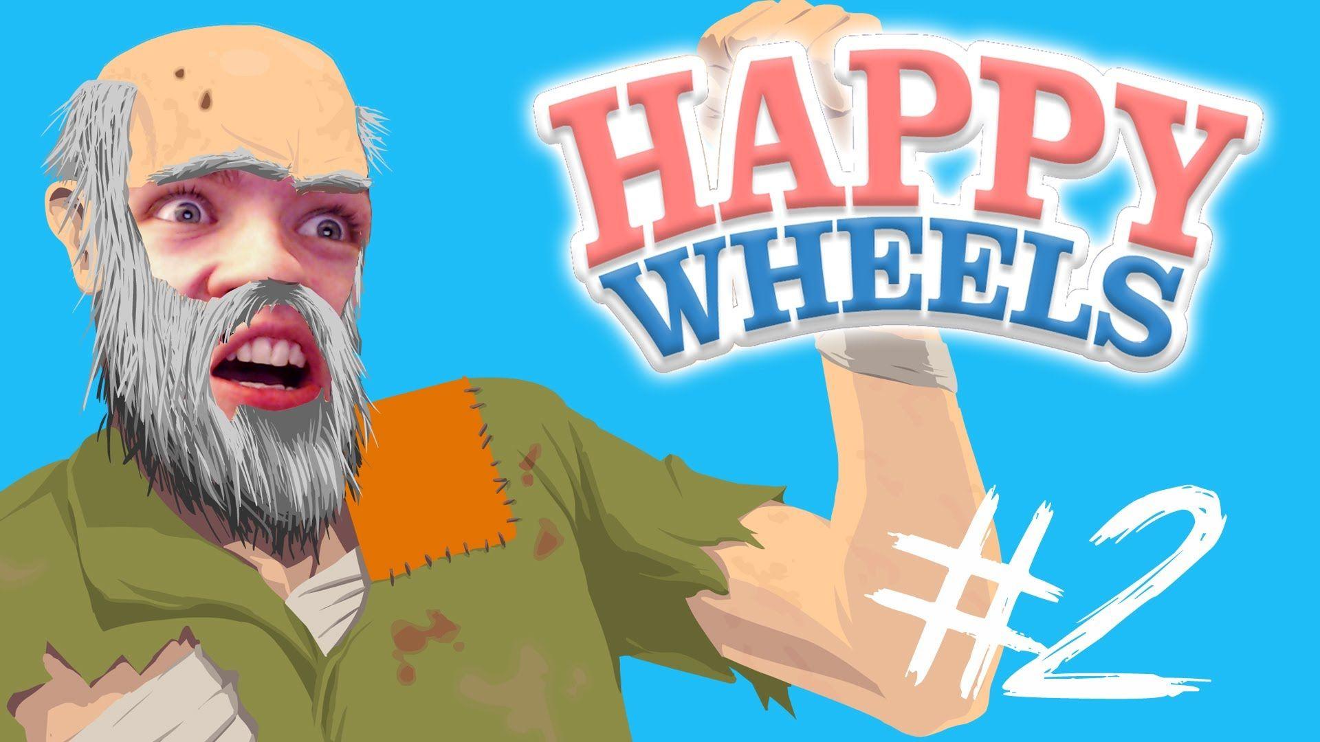 Happy Wheels - Part 2 | NINJA TRAINING | JACKSEPTICEYE | App