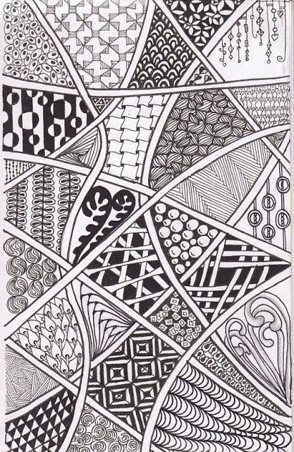 Images Of Zentangle Inspired Art Time To Tangle Diva Challenge 97 Wallpaper