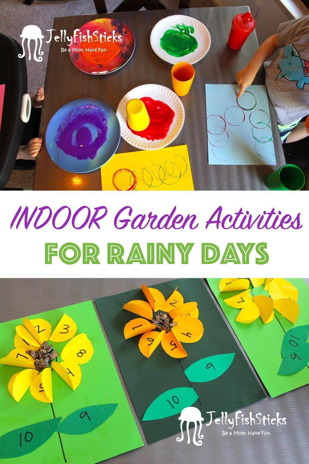 Garden Activities For Rainy Days