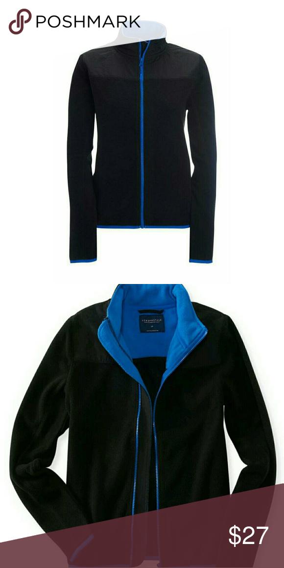 NEW Aeropostale Red Full Zip Up Fleece Jacket Coat A1-27