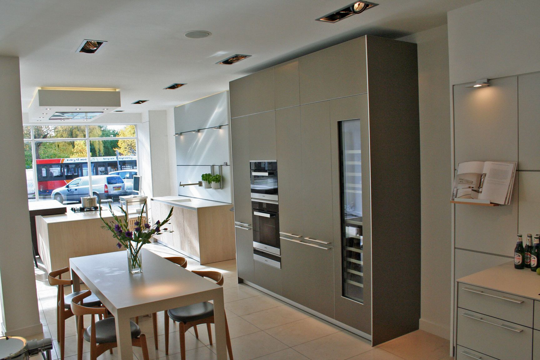 Our new sand beige aluminium display is complete come and see it at bulthaup winchester