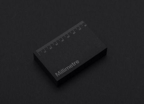 Inhouse / Millimetre / Business Cards / 2014