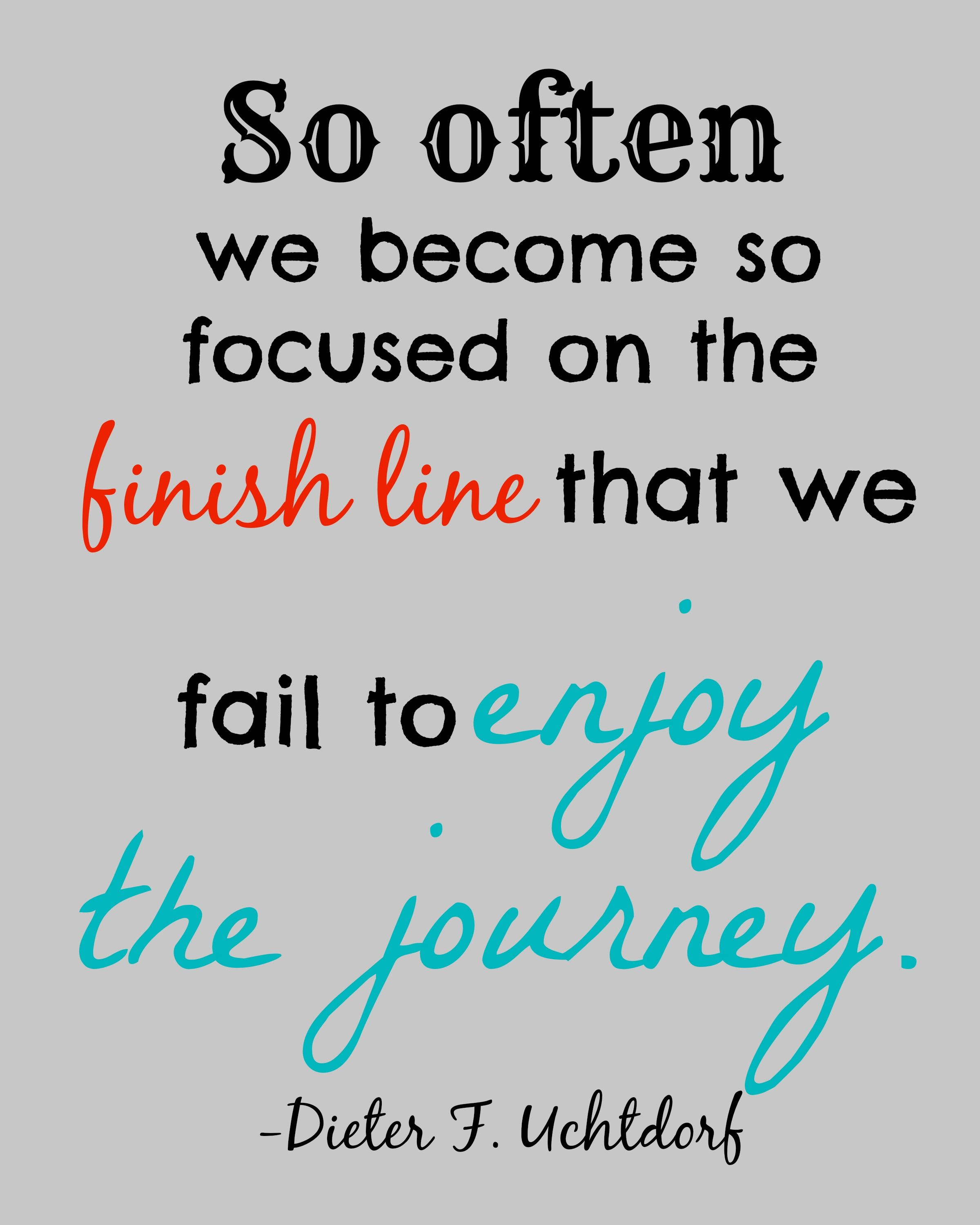 Enjoy The Journey Quote Printable Printables Made By Jordyn
