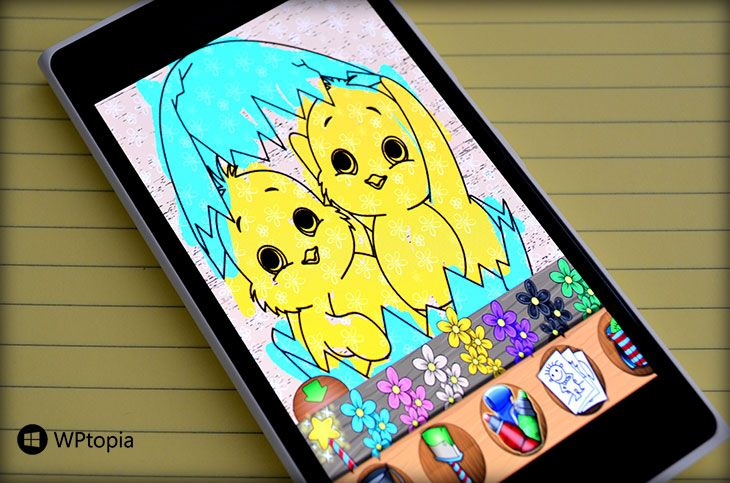 PaintSparkles for # WindowsPhone is Best Coloring App for ...