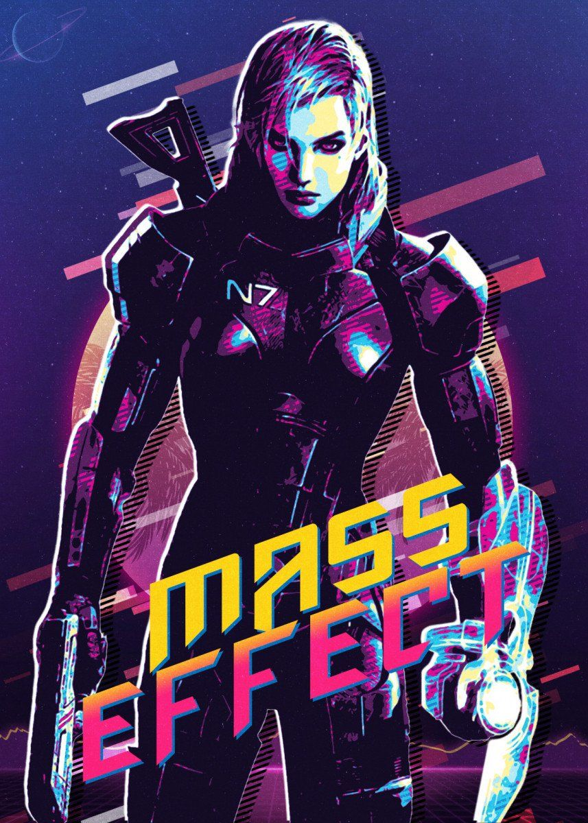 mass effect poster by secondsell