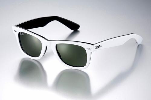 abd03be152 Ray-Ban Wayfarer RB2140 Exterior blanco - Interior negro | Gafas ...