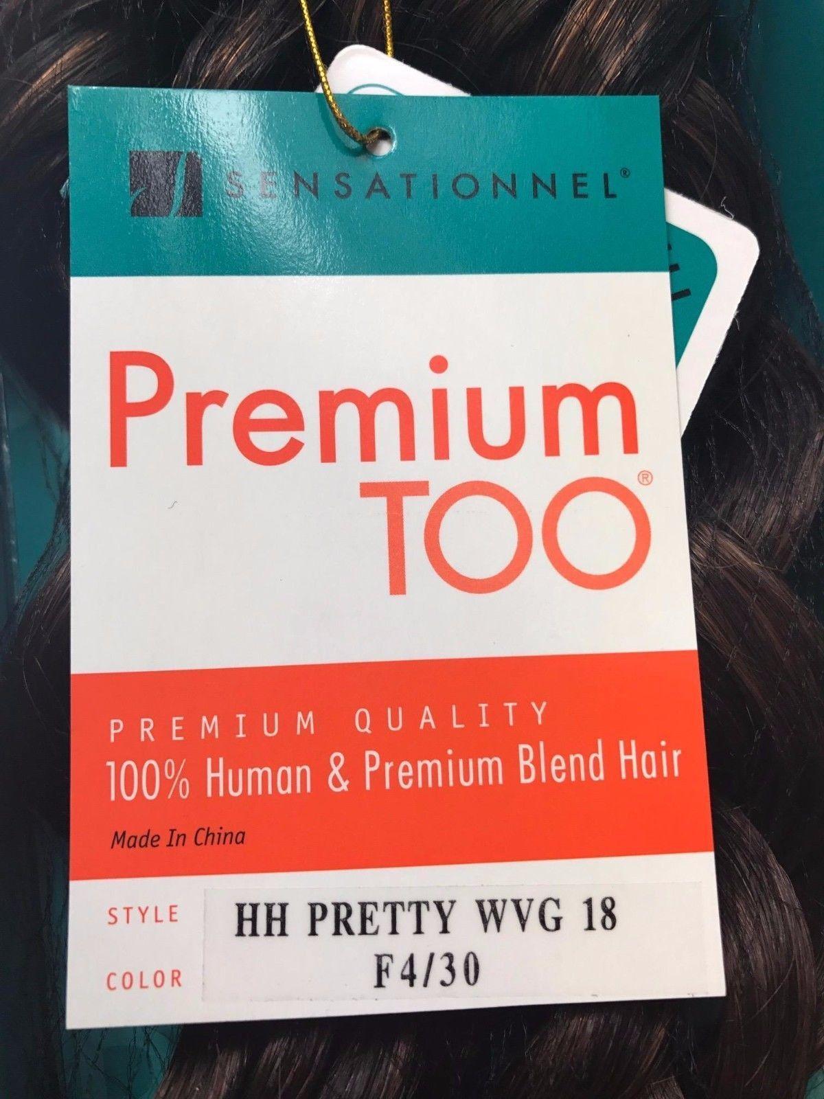 Sensationnel Premium Too Hh Pretty Wvg Human Weave Blend 18 Color