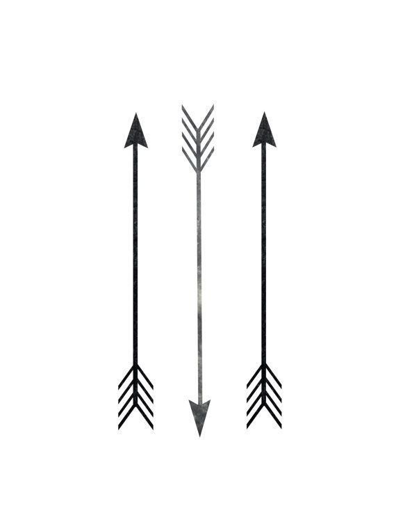 Line Art Arrow : Wall prints arrow print bohemian art