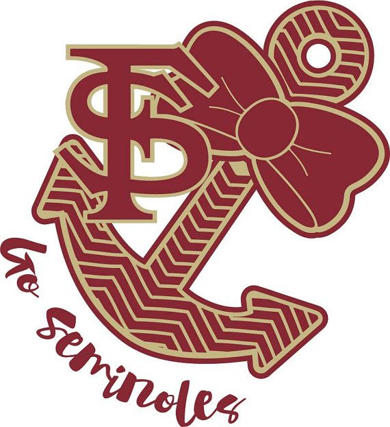 Fsu Florida State Florida State University Seminoles Decal Yeti Decal Car Car Monogram Decal Cricut Crafts Seminole