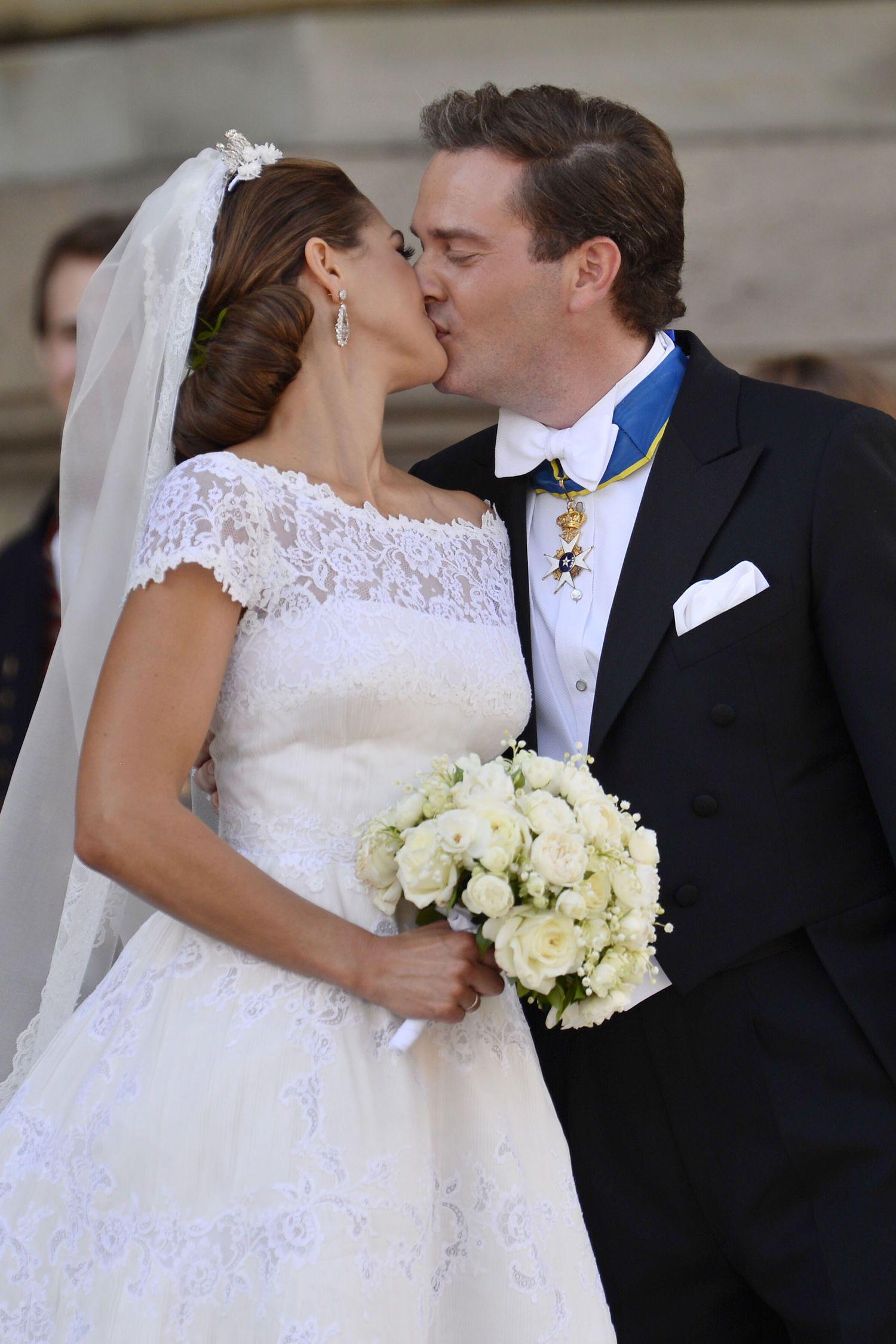 Prinzessin Madeleine: erste Blick aufs Hochzeitskleid: Das war ...
