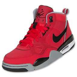 Boys' Grade School Nike Flight 13 Basketball Shoes | FinishLine.com |  University Red