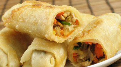 Rollitos de primavera de verduras | #Receta de cocina | #Vegana - Vegetariana ecoagricultor.com