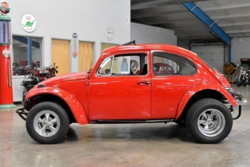 1965 Volkswagen Beetle Clic Baja Red For On Craigslist