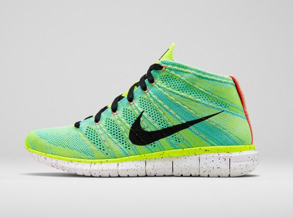 #NIKE Free Flyknit Chukka - Mercurial and Magista Collection #sneakers