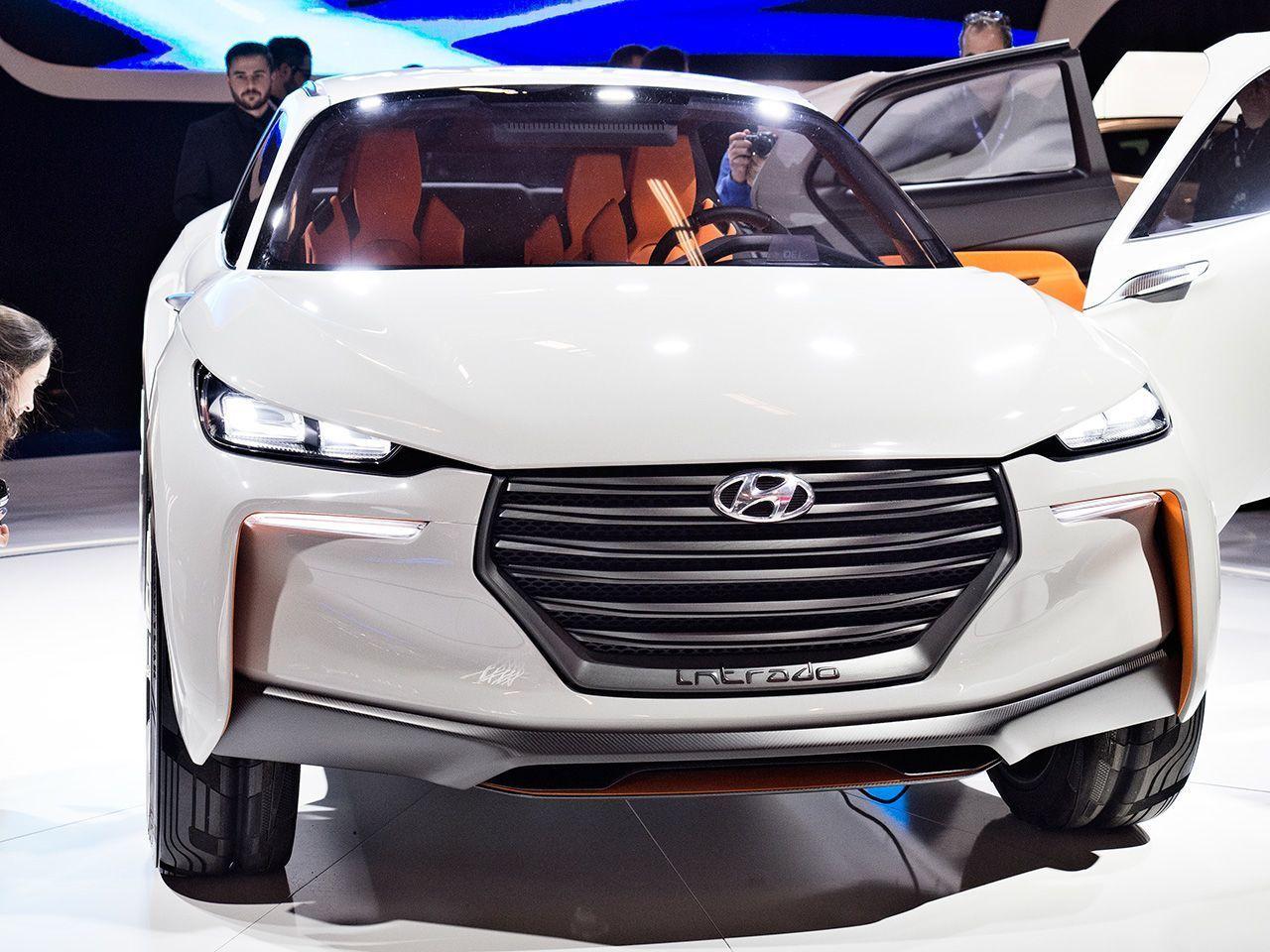 Hyundai Concept Intrado présenté au salon de l'auto de Montréal 2015