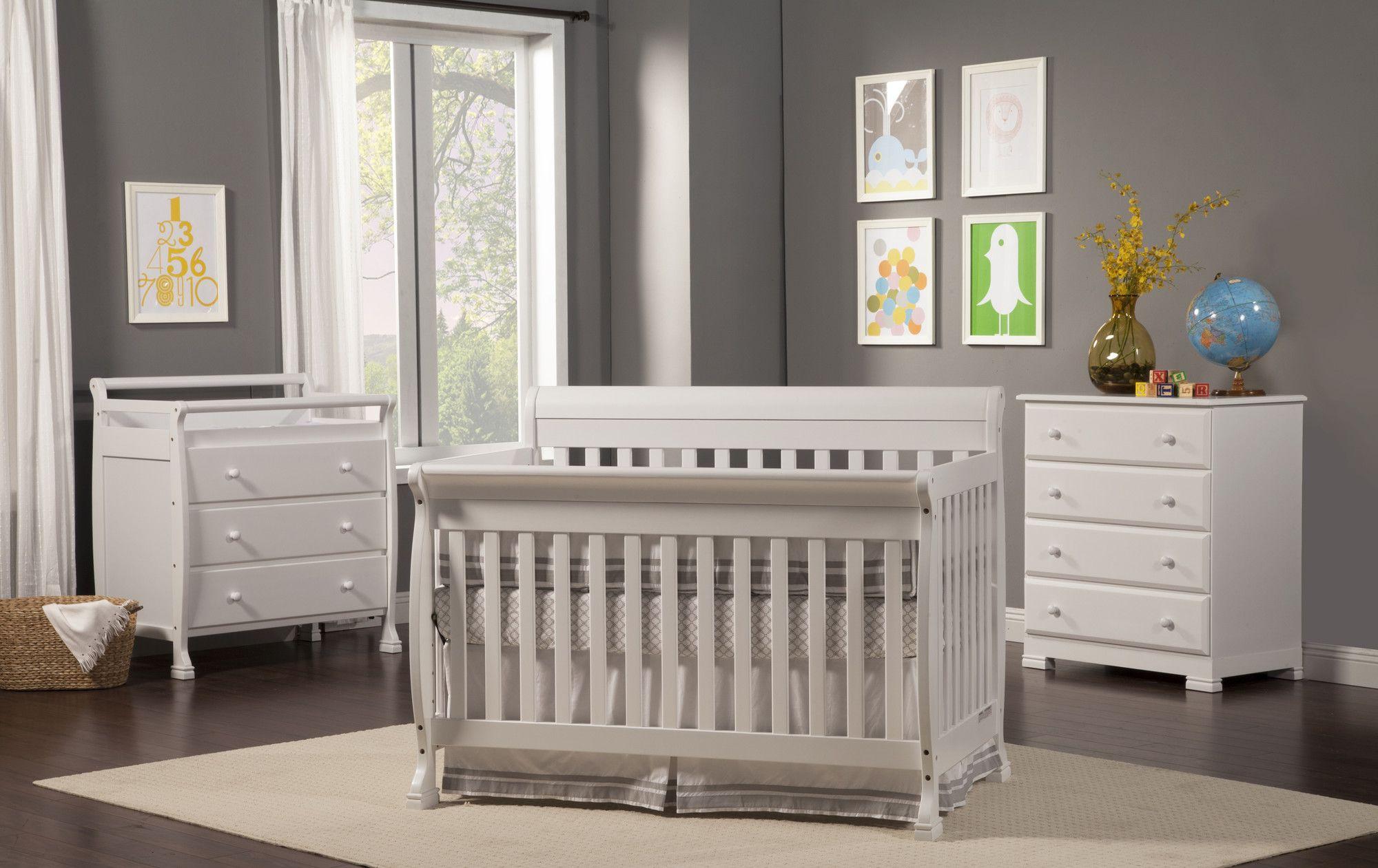 Kalani 4 In 1 Convertible Crib Convertible Crib Nursery