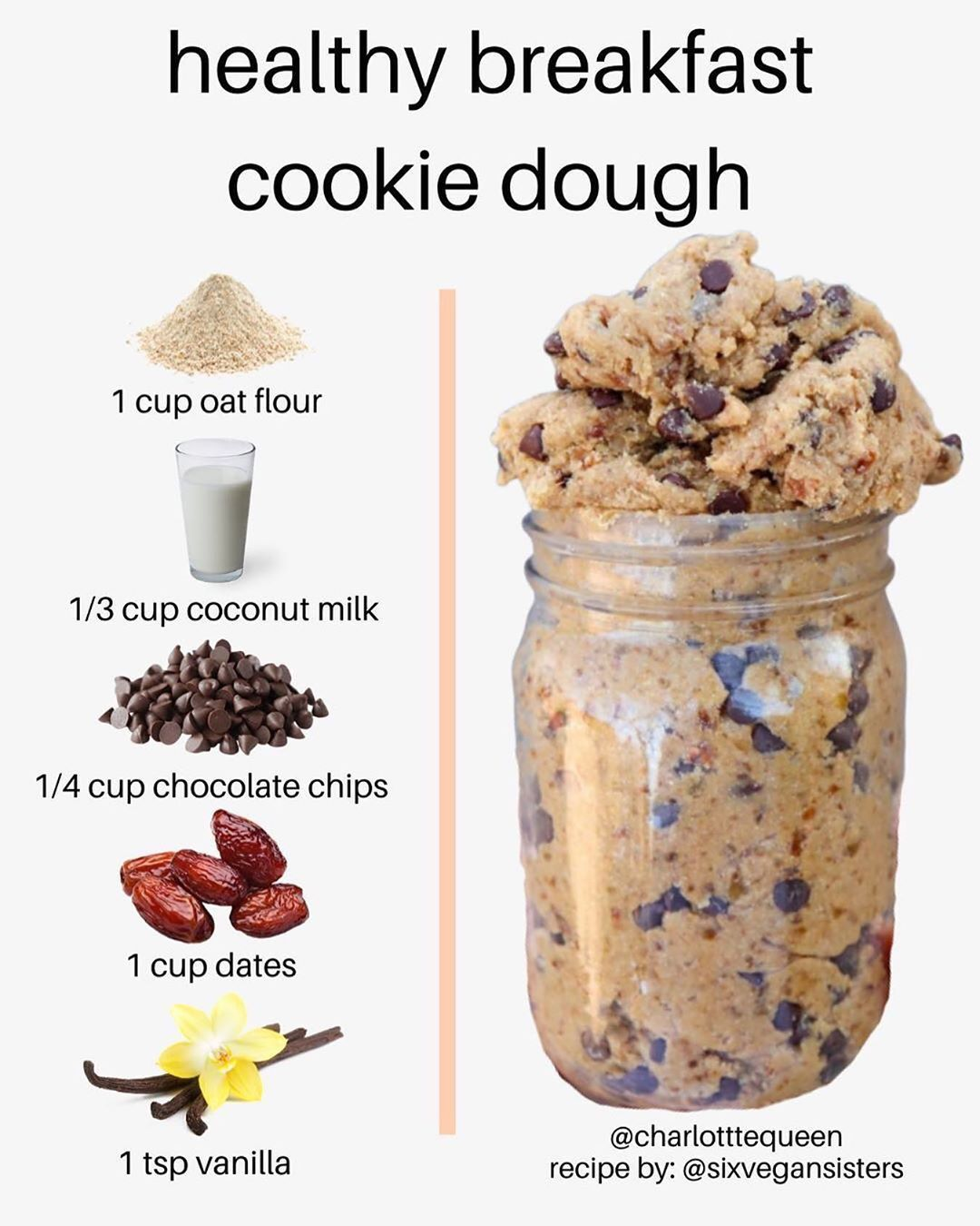 Health Nutrition Facts On Instagram Who Says Cookie Dough