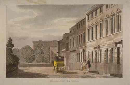 Berkeley Square in 1813 | Reg1811-1820/earlyvict1830's