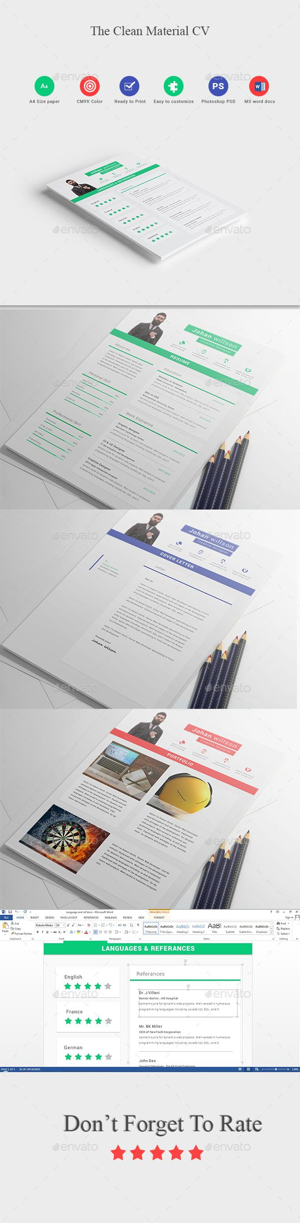 The Clean Material Cv Pinterest Cleaning Materials Word Design