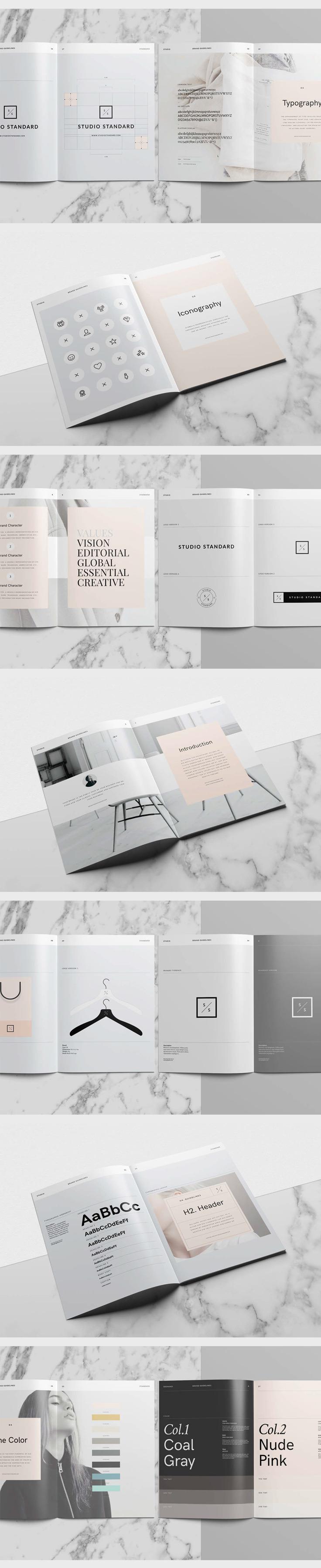 Design Guidelines Studio Standards from Abduzeedo