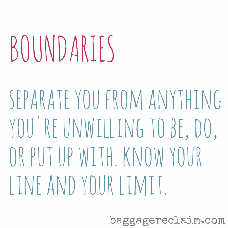Strategies of love. Self esteem and boundaries 4