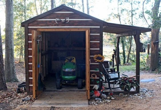 Sheds 7 Lawn Mower Shed Plans