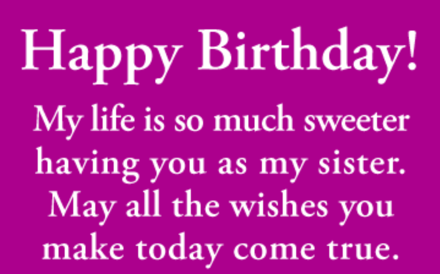 Funny Birthday Wishes For Elder Sister (With images
