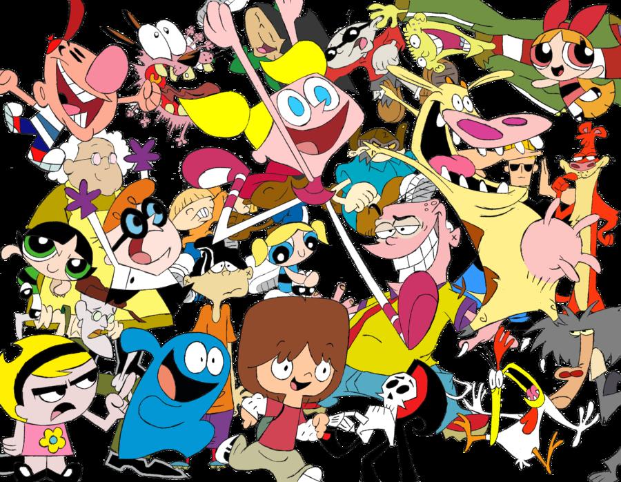 Zeichentrickfiguren 90er