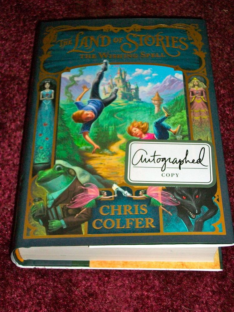 10 Kitchen And Home Decor Items Every 20 Something Needs: The Land Of Stories: The Wishing Spell 1 By Chris Colfer