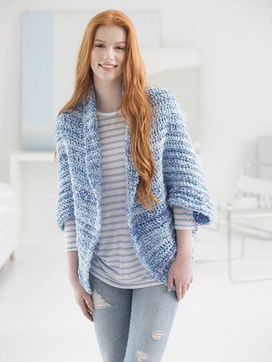 Simple Crochet Shrug   crochet   Pinterest   Tricotar, Chaquetas y ...