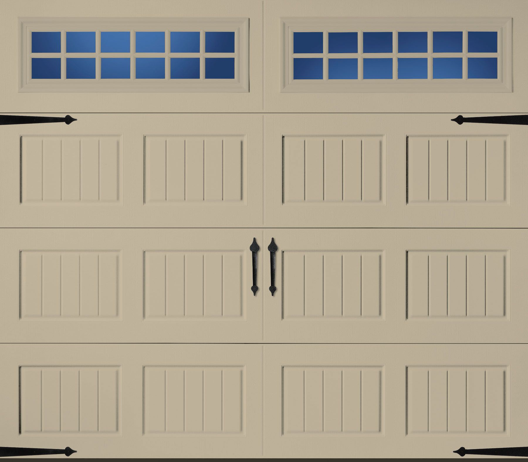 Amarr Garage Door Wicker Tan White Garage Doors
