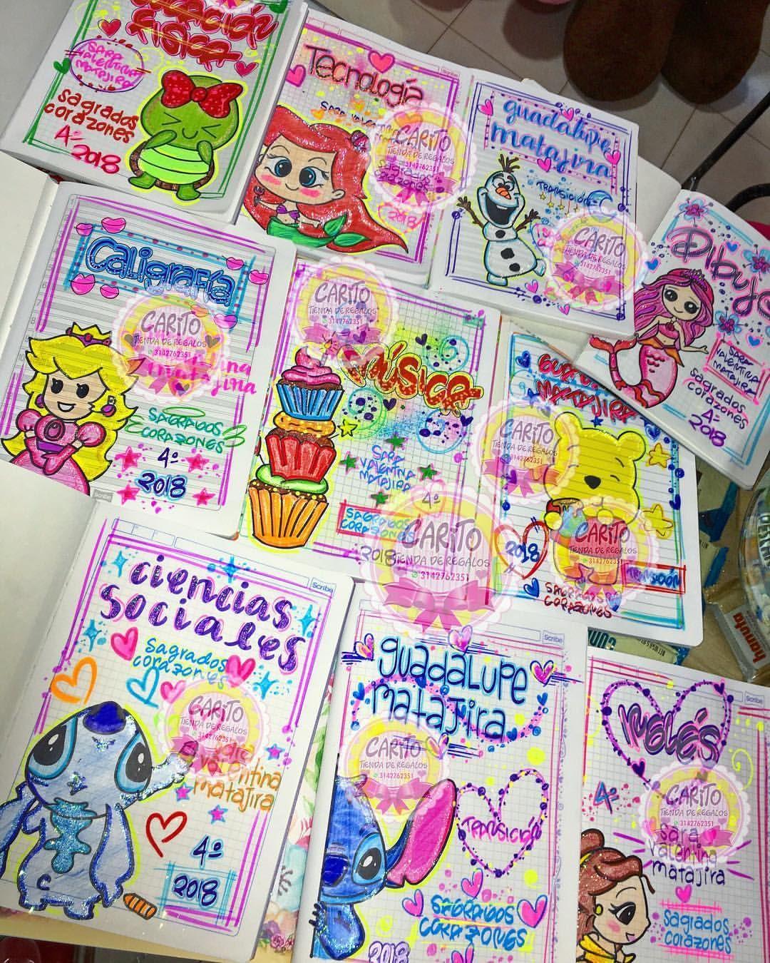 Temporada Escolar 2018 Marcamos Tus Cuadernos Con Muchísimo